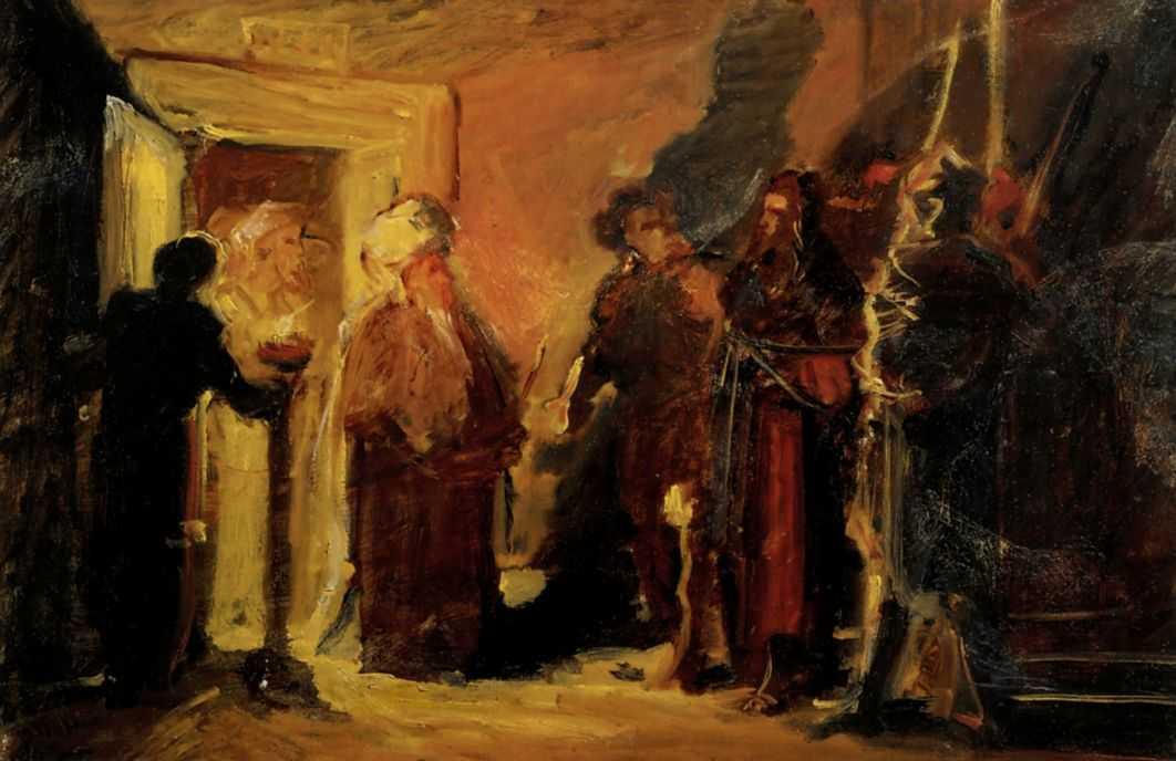 Христос перед Анной — Ге Николай Николаевич