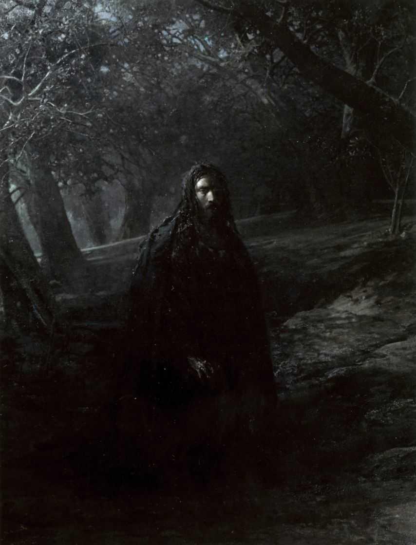 В Гефсиманском саду — Ге Николай Николаевич