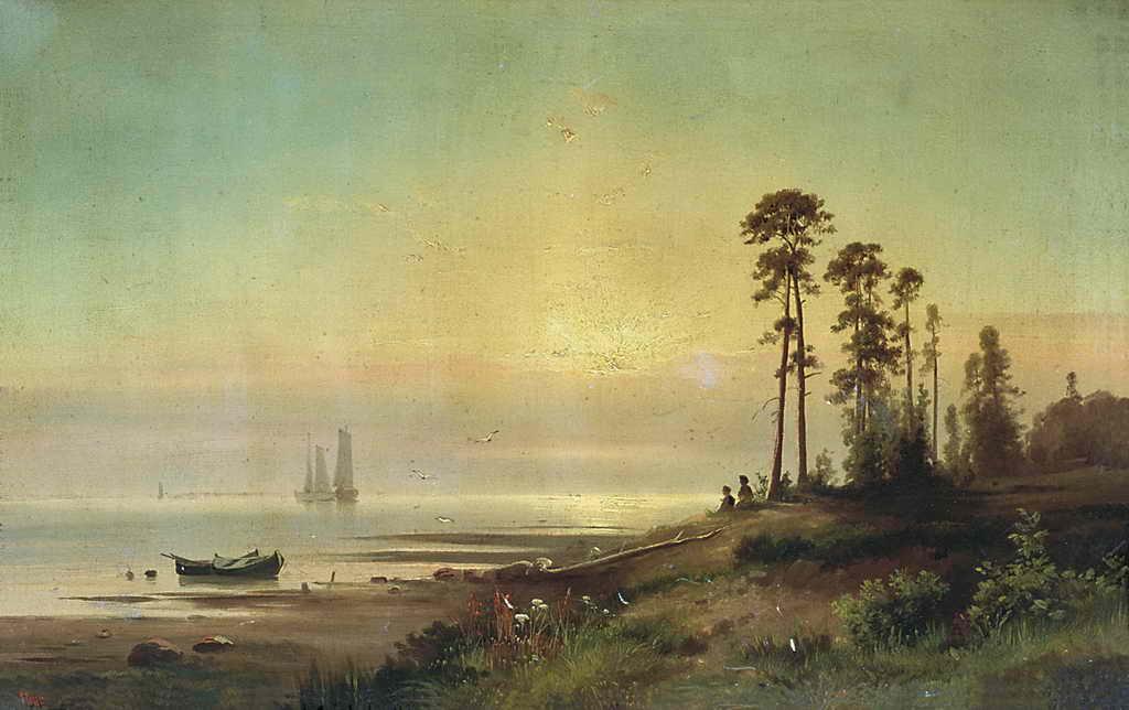 Берег моря — Гине Александр Васильевич