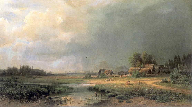 Перед грозой — Гине Александр Васильевич