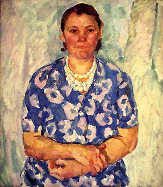 Портрет работницы — Антипова Евгения Петровна