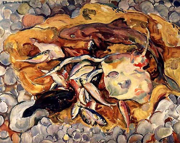 Рыбы на берегу — Антипова Евгения Петровна