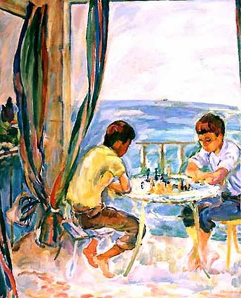 Шахматисты — Антипова Евгения Петровна