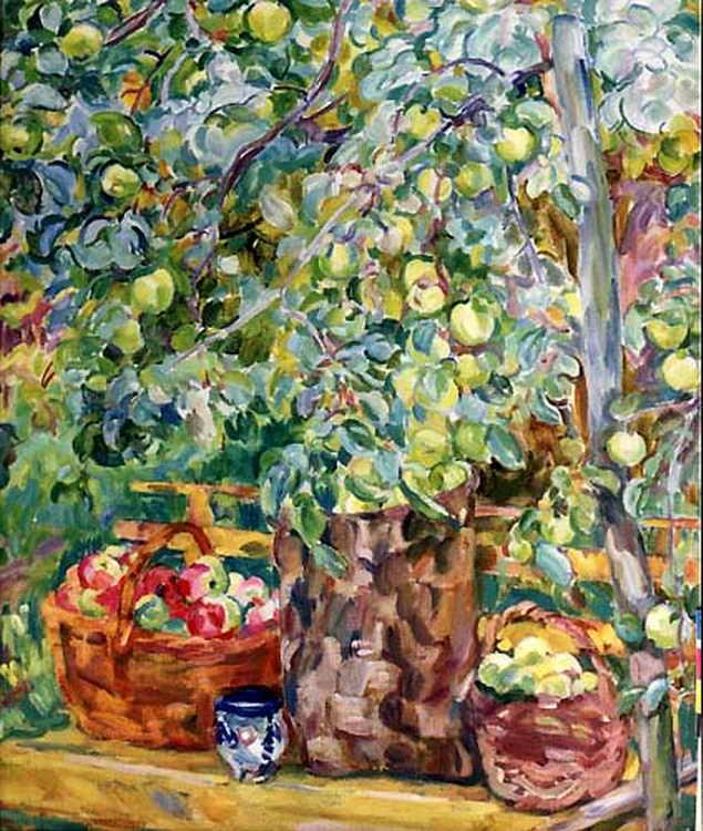 Яблоки в карзинах — Антипова Евгения Петровна