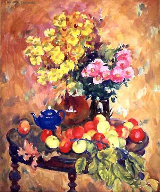 Яблоки и синий чайник — Антипова Евгения Петровна