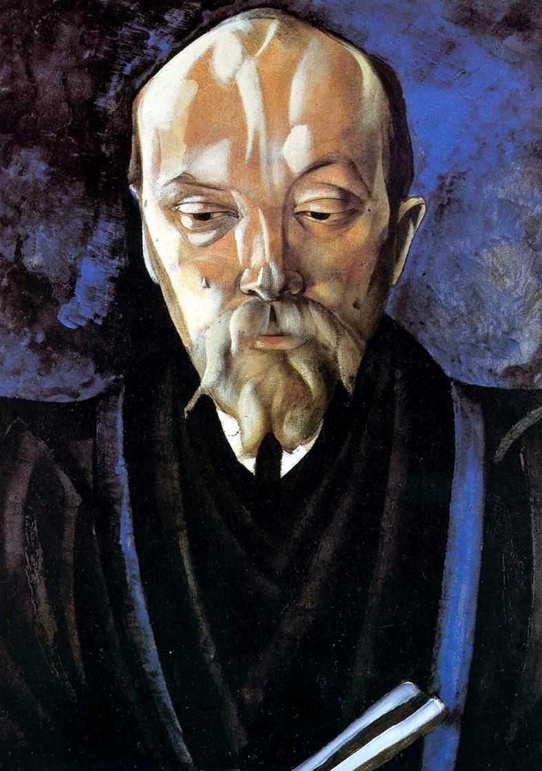 Портрет Николая Константиновича Рериха — Григорьев Борис Дмитриевич