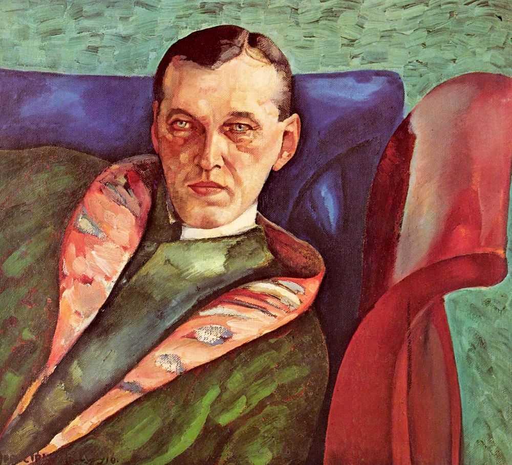 Портрет Александра Александровича Коровина — Григорьев Борис Дмитриевич
