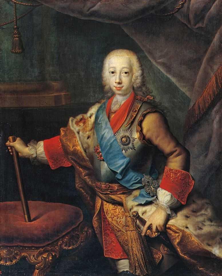 Портрет великого князя Петра Федоровича — Гроот Георг Кристофор