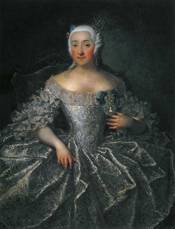 Портрет графини В.А.Шереметевой. — Гроот Георг Кристофор