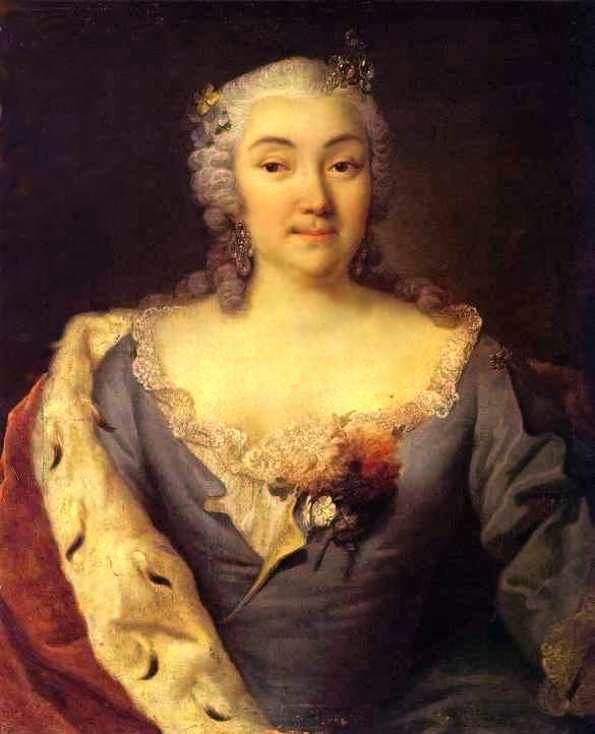 Портрет княгини Александры Куракиной — Гроот Георг Кристофор