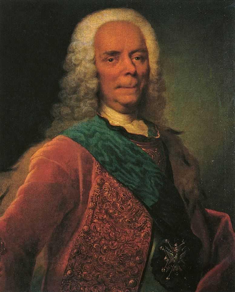 Портрет князя В.В.Долгорукова — Гроот Георг Кристофор
