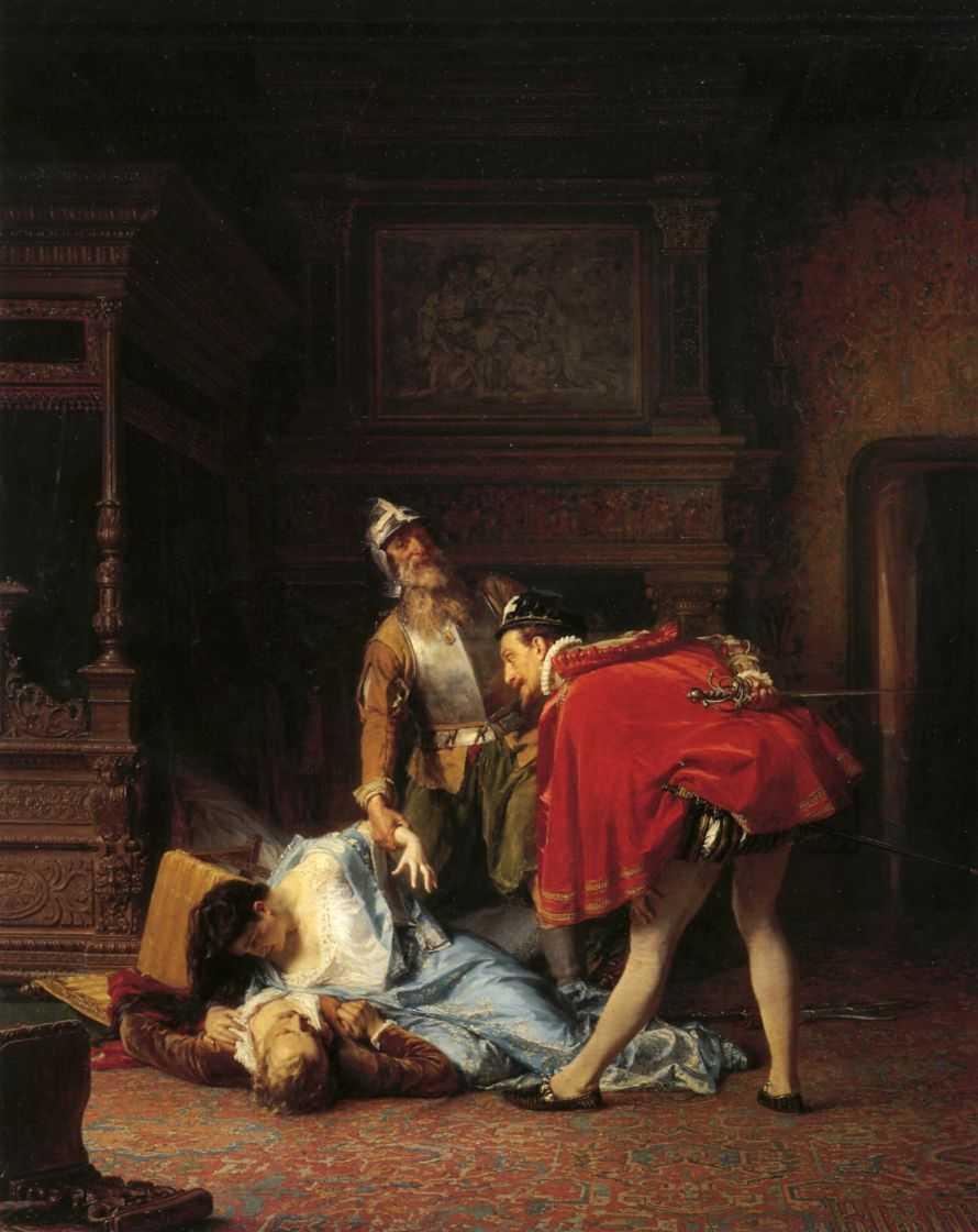 Сцена из Варфоломеевской ночи — Гун Карлис Фридрихович (Карл Федорович)