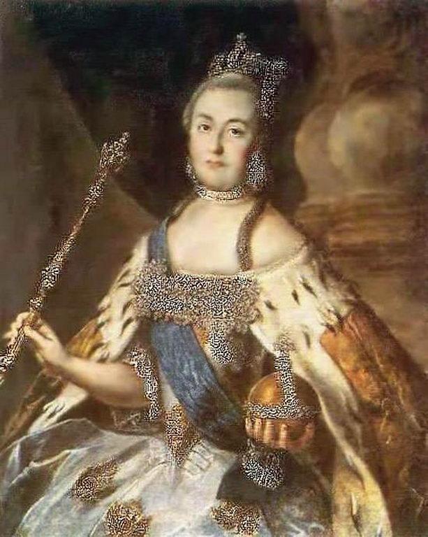 Портрет Екатерины II (а) — Антропов Алексей Петрович