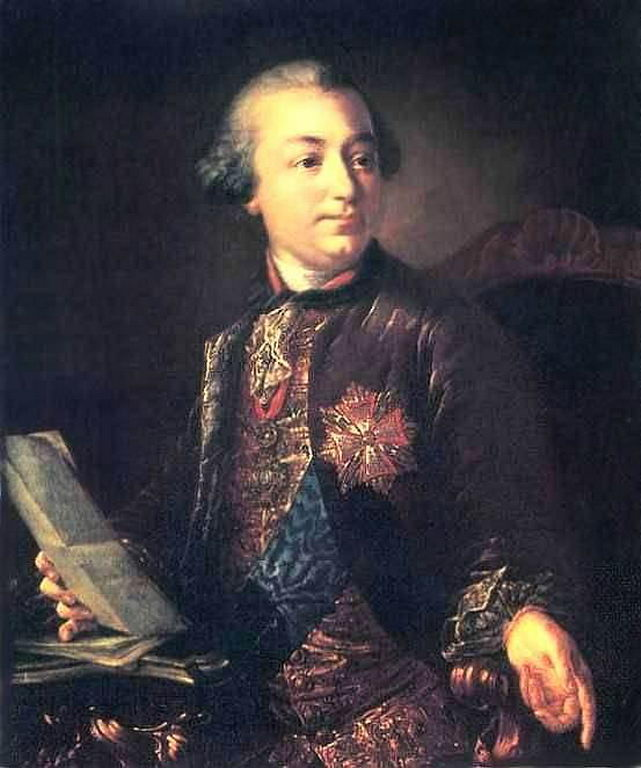 Портрет И.И.Шувалова — Антропов Алексей Петрович