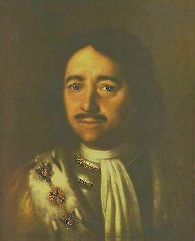 Портрет Петра I — Антропов Алексей Петрович