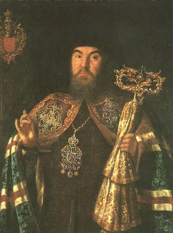 Портрет архиепископа С.Кулябки — Антропов Алексей Петрович