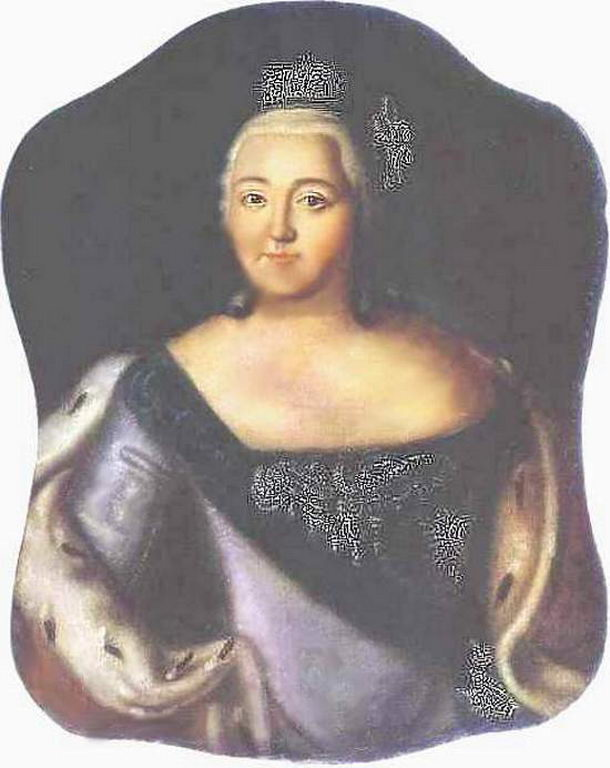 Портрет императрицы Елизаветы Петровны — Антропов Алексей Петрович