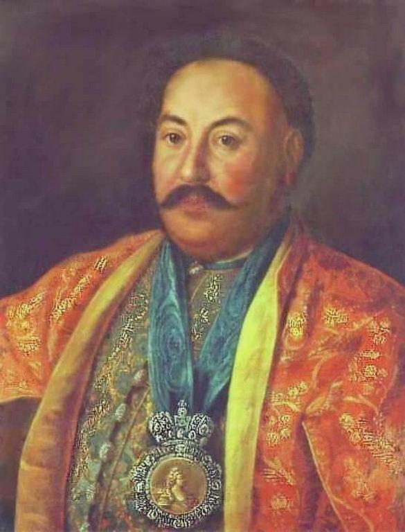 Портрет казацкого атамана Ф.И.Краснощекова — Антропов Алексей Петрович