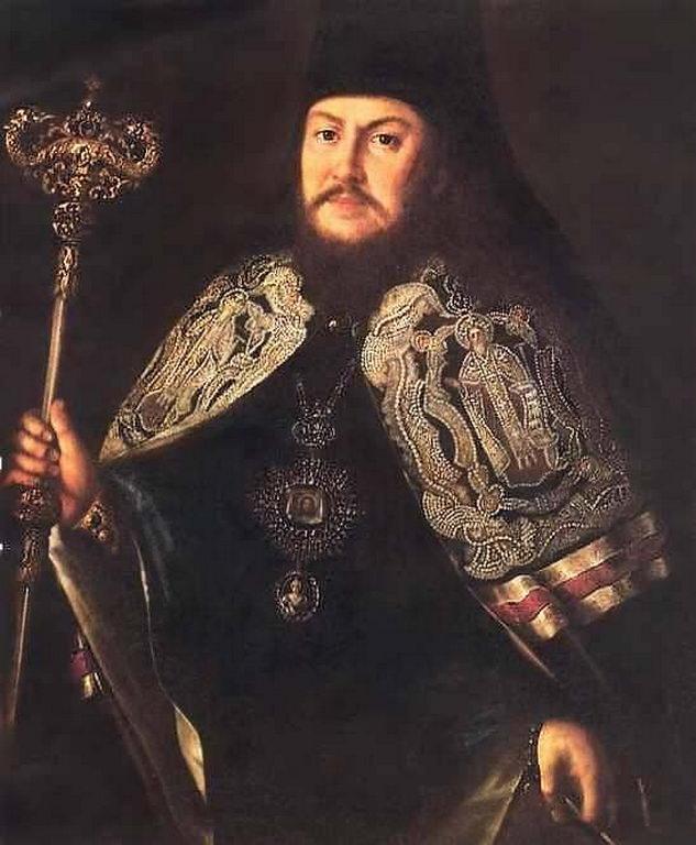 Портрет тверского архиепископа Платона Левшина — Антропов Алексей Петрович