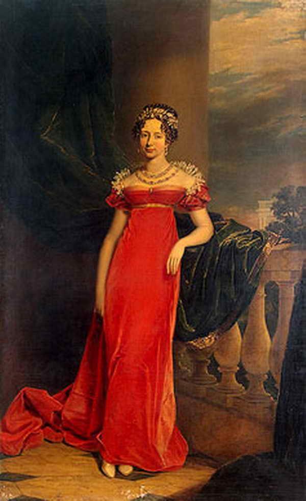 Портрет великой княгини Марии Павловны — Доу Джордж