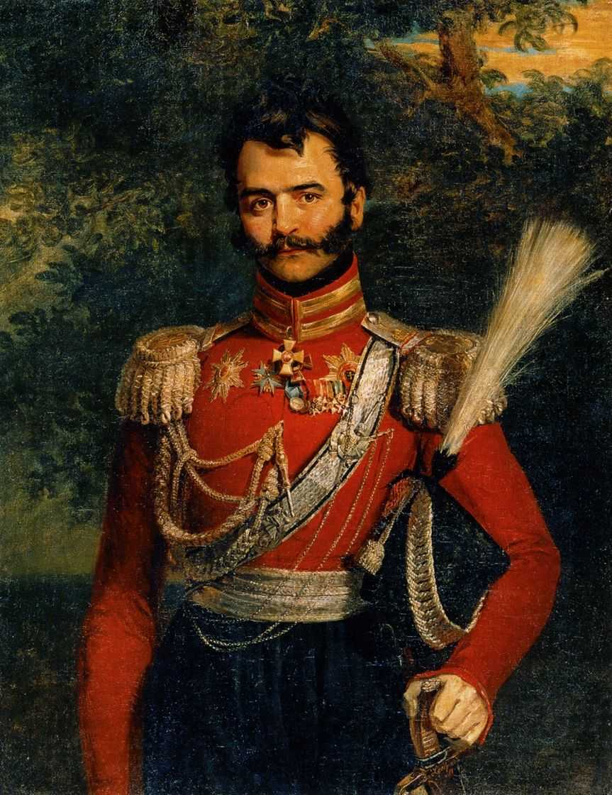 Портрет В.В.Орлова-Денисова — Доу Джордж