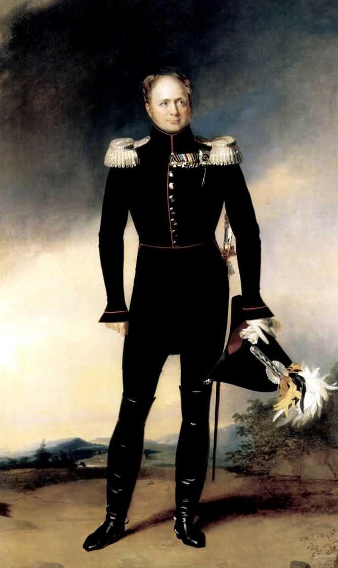 Портрет Императора Александра I — Доу Джордж