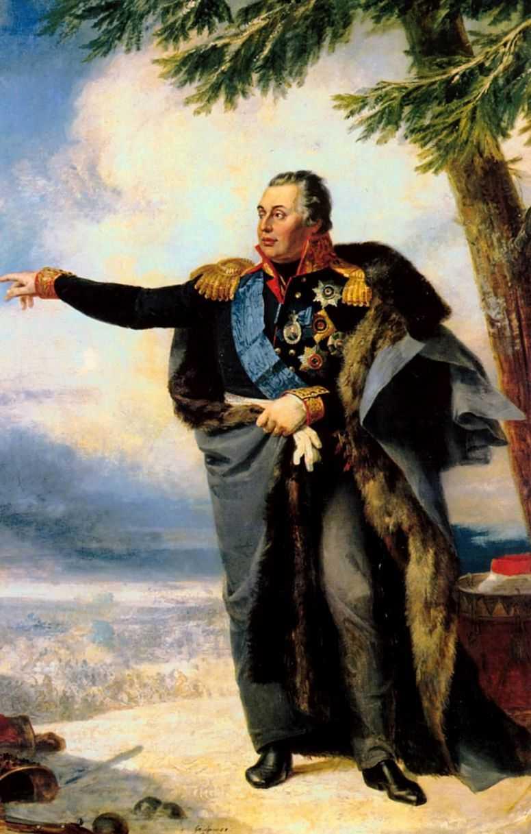 Портрет Михаила Илларионовича Кутузова — Доу Джордж