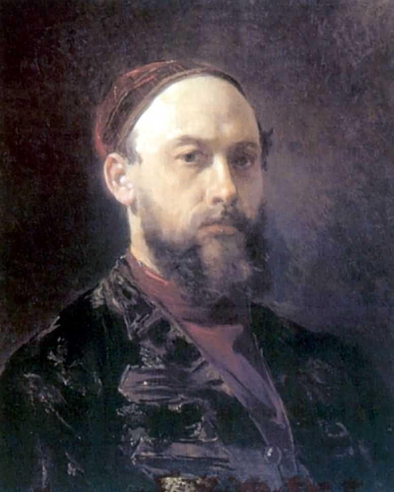 Автопортрет — Журавлев Фирс Сергеевич