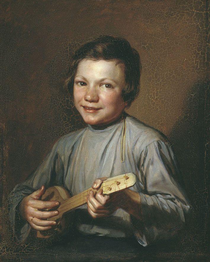 Мальчик с балалайкой — Заболотский Петр Ефимович