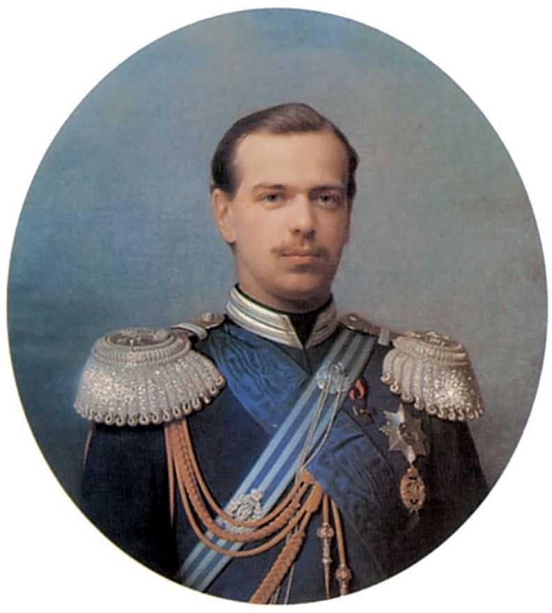 Портрет цесаревича Александра Александровича — Зарянко Сергей Константинович