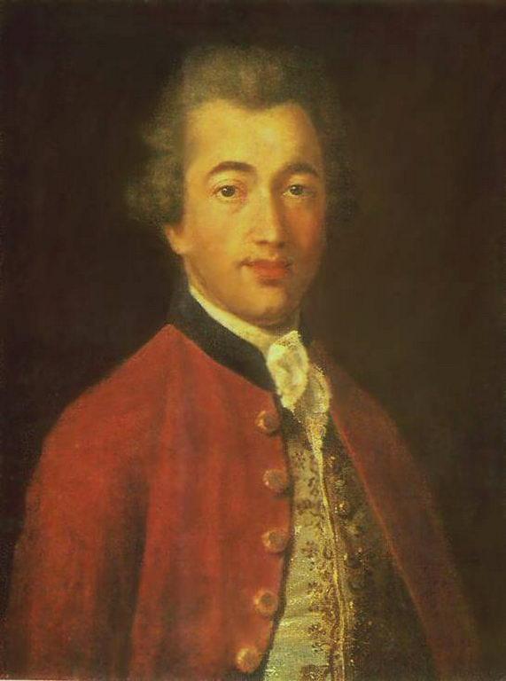 Портрет М. Л. Лазарева — Аргунов Иван Петрович