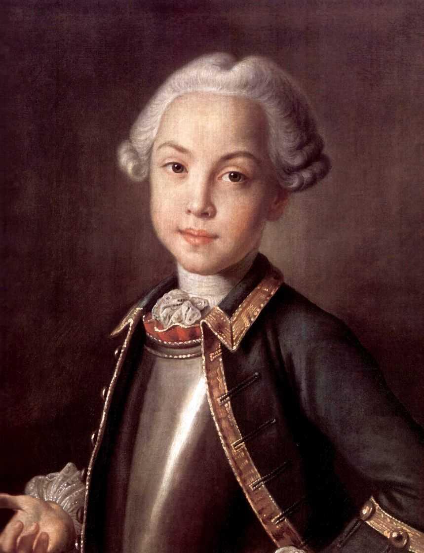 Портрет графа Н.П.Шереметьева в детстве — Аргунов Иван Петрович