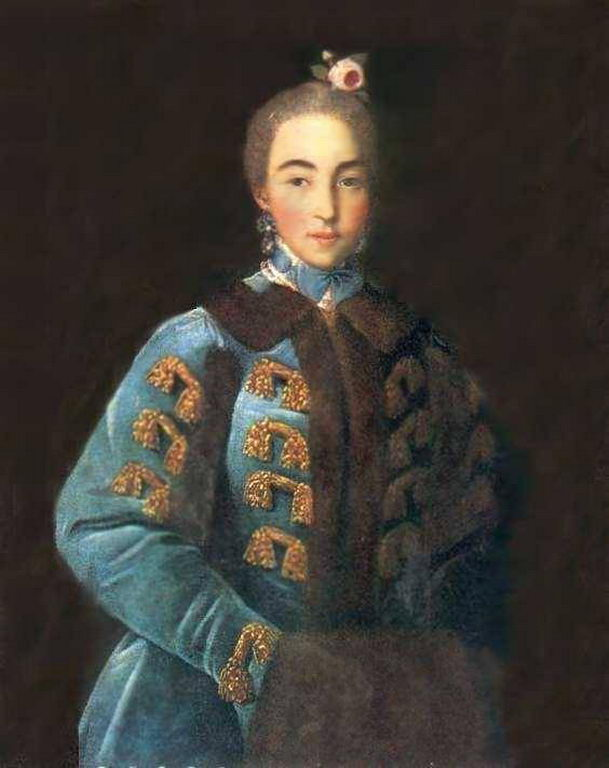 Портрет графини А. П. Шереметьевой — Аргунов Иван Петрович