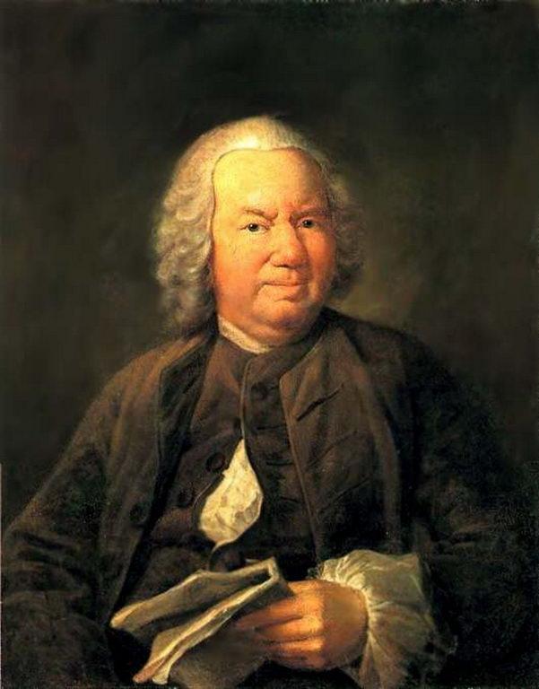 Портрет K. A. Хрипуновa — Аргунов Иван Петрович