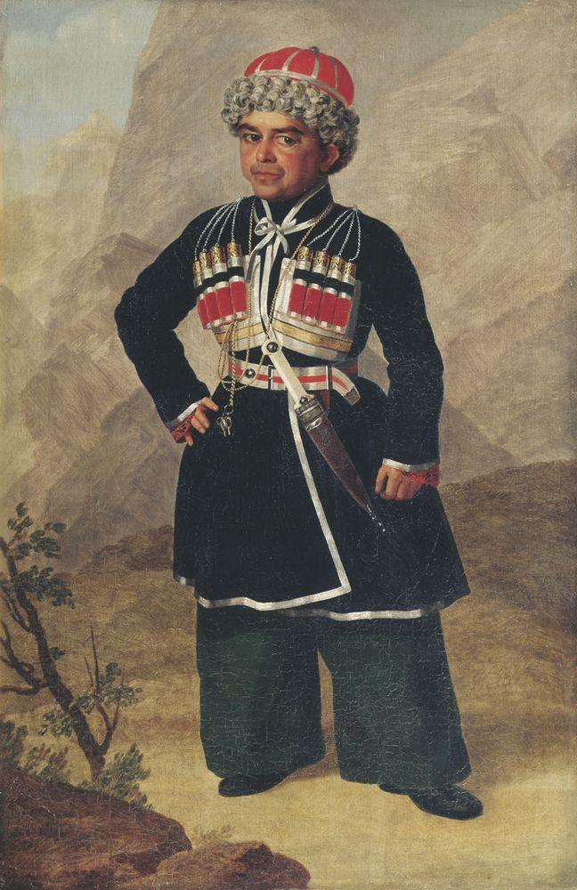 Ахметка, карлик Николая I — Зауервейд Александр Иванович