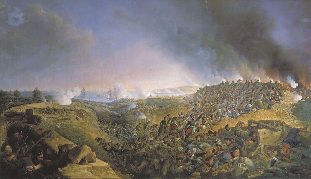Инженерная атака крепости Варна саперным батальоном 23 сентября 1828 года — Зауервейд Александр Иванович