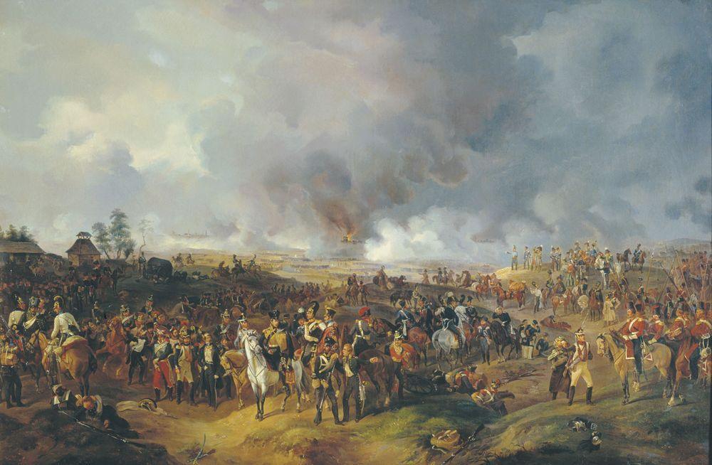 Сражение при Лейпциге с 2 по 7 октября 1813 года — Зауервейд Александр Иванович