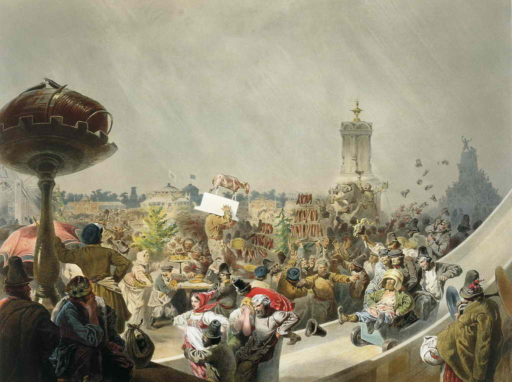 Народный праздник на Ходынском поле в Москве по случаю священного коронования императора Александра II — Зичи Михаил Александрович