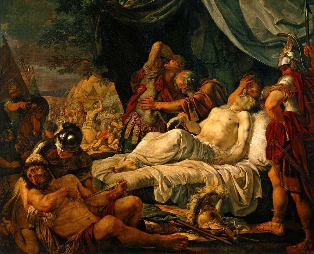 Смерть Пелопида — Иванов Андрей Иванович