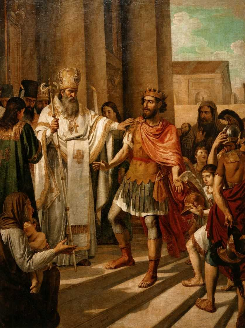 Крещение князя Владимира в Корсуни — Иванов Андрей Иванович