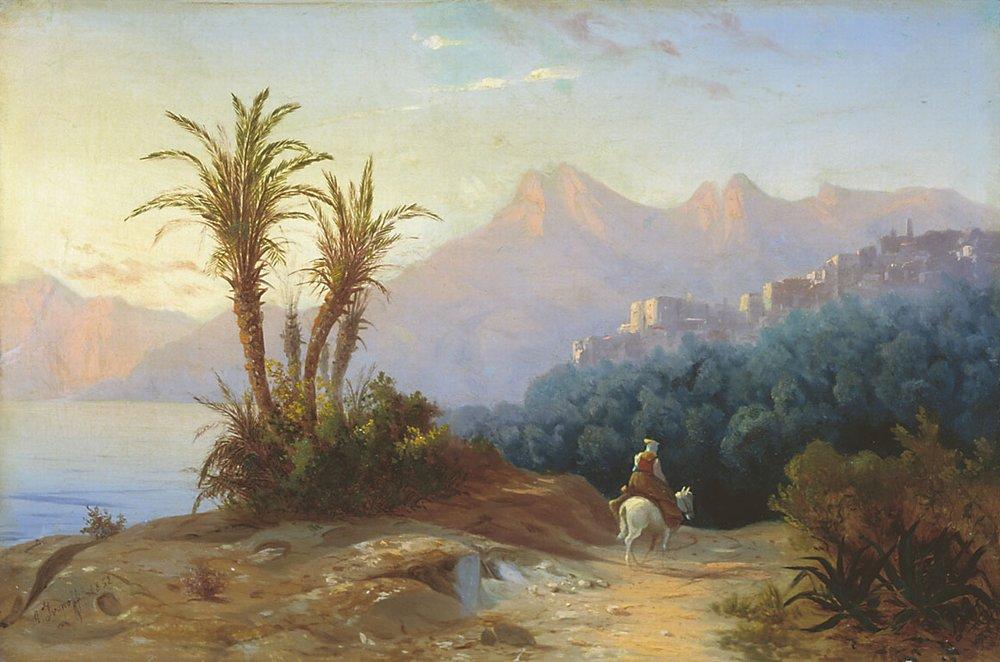 Итальянский пейзаж — Иванов Антон Иванович