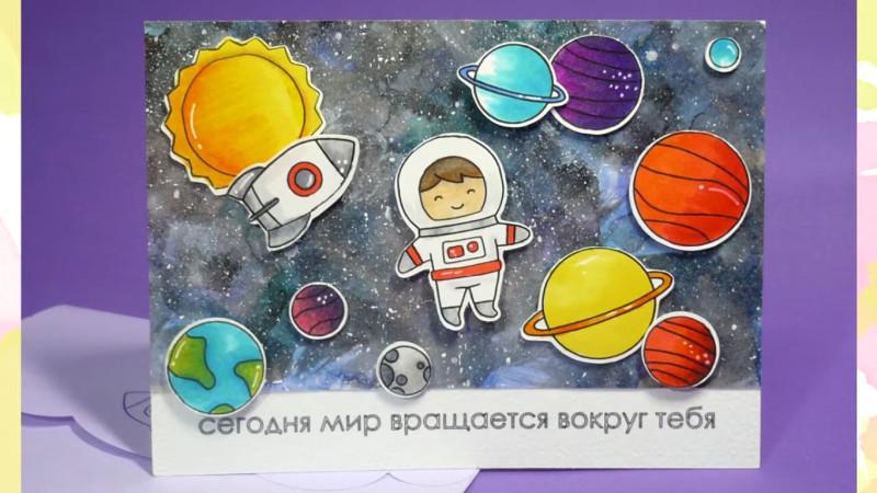 1492293116-1 Как нарисовать космос 🥝 акварелью своими руками поэтапно
