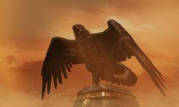 #digitalart #eagle #sand