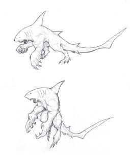 #wereshark #werewolf #creature #monster #fantasy