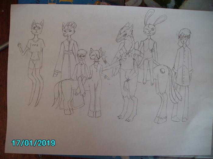 персонажи персонажи персонажи, мне нужно больше персонажей!!! | Author: полина