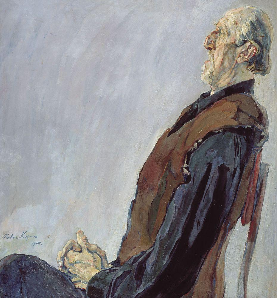 Портрет М.К.Холмогорова — Корин Павел Дмитриевич