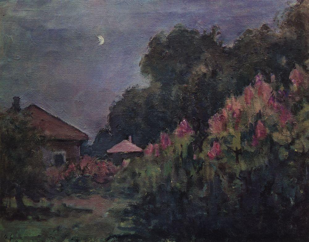 Вечер с луной. Руза — Куприн Александр Васильевич