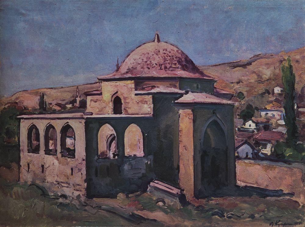Бахчисарай. Древний мавзолей. Полдень — Куприн Александр Васильевич