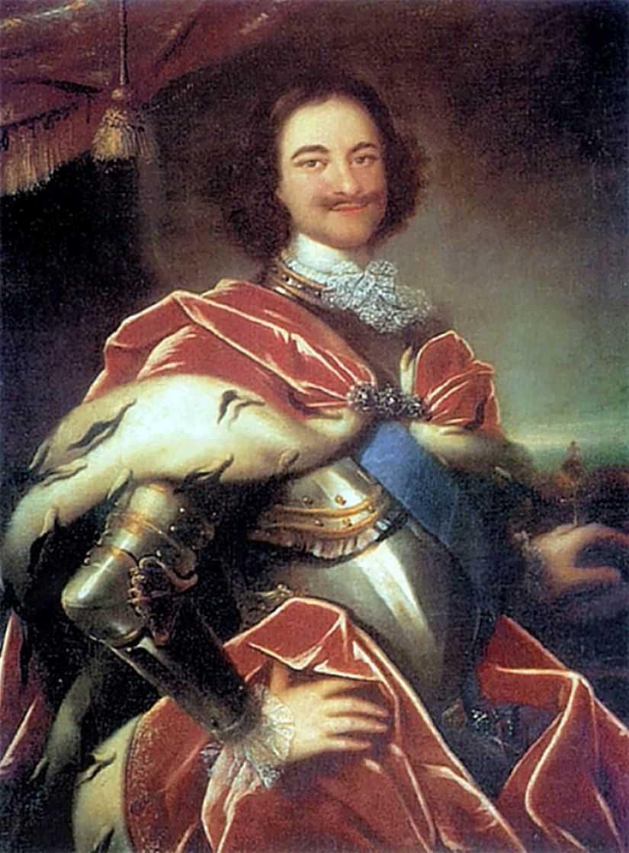 Портрет Петра I. — Никитин Иван Никитич