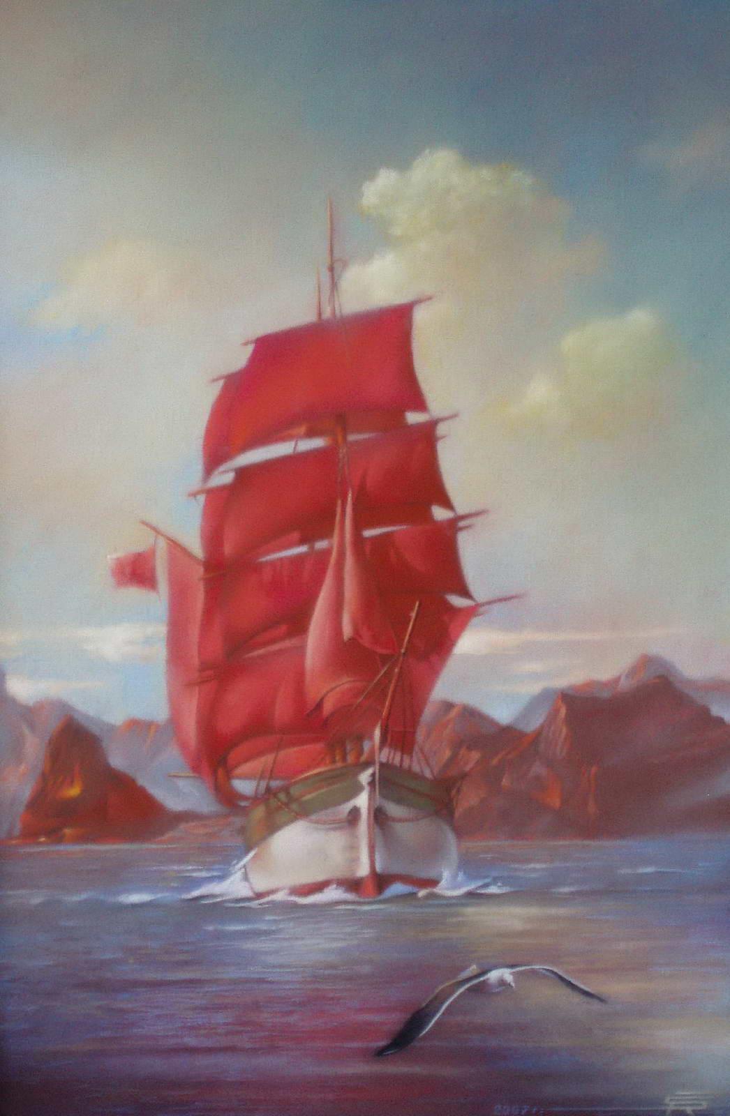 Алые паруса — Роберт Шорис (родился - 1959)